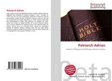 Bookcover of Patriarch Adrian