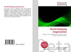 Capa do livro de World Mahjong Organization