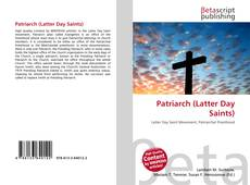 Patriarch (Latter Day Saints) kitap kapağı