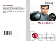 Portada del libro de Mohamed Bahari