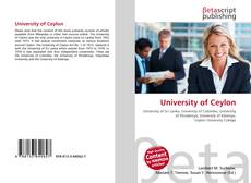 Bookcover of University of Ceylon