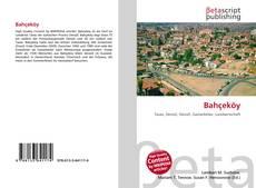 Buchcover von Bahçeköy