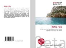 Bookcover of Bahía Feliz