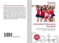 Buchcover von University of Arkansas at Pine Bluff