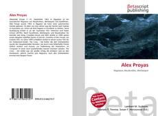 Couverture de Alex Proyas
