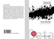 Buchcover von Tony Mackle