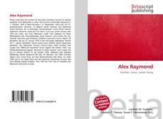 Capa do livro de Alex Raymond