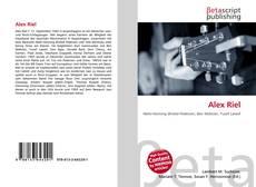 Buchcover von Alex Riel