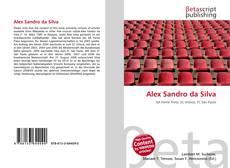 Capa do livro de Alex Sandro da Silva