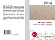 Обложка Ramses Emerson