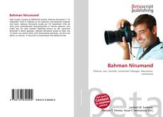 Buchcover von Bahman Nirumand