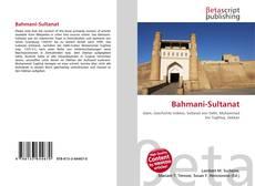Buchcover von Bahmani-Sultanat