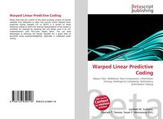 Bookcover of Warped Linear Predictive Coding