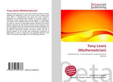 Bookcover of Tony Lewis (Mathematician)