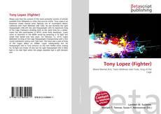 Capa do livro de Tony Lopez (Fighter)