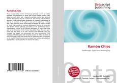 Buchcover von Ramón Chíes