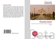 Bookcover of Priyanka Vadra