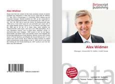 Buchcover von Alex Widmer