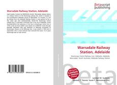Обложка Warradale Railway Station, Adelaide
