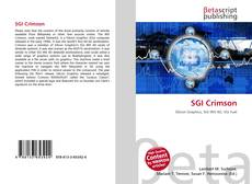 Bookcover of SGI Crimson
