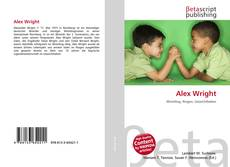 Buchcover von Alex Wright