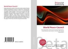 Bookcover of World Peace Council