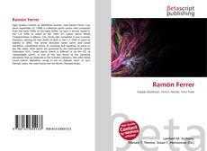 Capa do livro de Ramón Ferrer