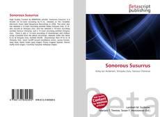 Bookcover of Sonorous Susurrus