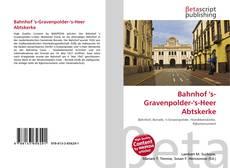Buchcover von Bahnhof 's-Gravenpolder-'s-Heer Abtskerke