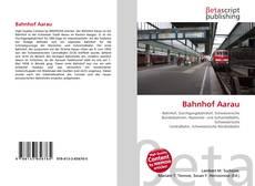 Capa do livro de Bahnhof Aarau