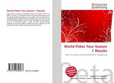 Bookcover of World Poker Tour Season 1 Results