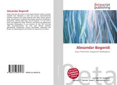 Bookcover of Alexandar Bogoridi