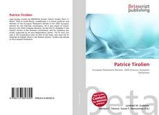 Borítókép a  Patrice Tirolien - hoz