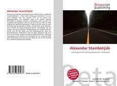 Portada del libro de Alexandar Stambolijski