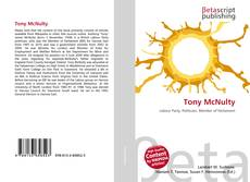 Bookcover of Tony McNulty