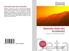 Capa do livro de Alexander (Sohn des Aristobulos)