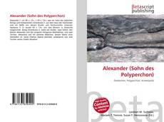 Capa do livro de Alexander (Sohn des Polyperchon)