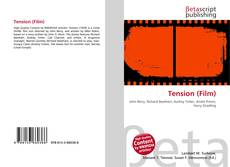 Bookcover of Tension (Film)