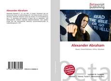Alexander Abraham的封面