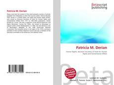 Bookcover of Patricia M. Derian