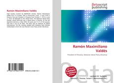 Buchcover von Ramón Maximiliano Valdés