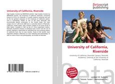 Bookcover of University of California, Riverside