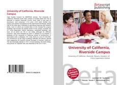 University of California,  Riverside Campus的封面