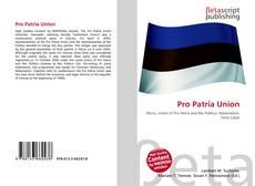 Borítókép a  Pro Patria Union - hoz