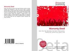 Buchcover von Warranty Deed