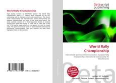 World Rally Championship kitap kapağı