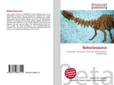 Couverture de Bahariasaurus