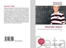 Buchcover von Alexander Aigner