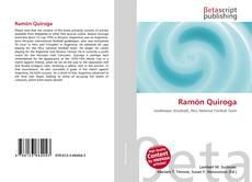 Bookcover of Ramón Quiroga