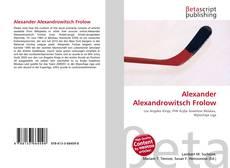 Couverture de Alexander Alexandrowitsch Frolow